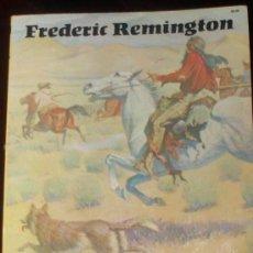 Libros de segunda mano: FREDERIC REMINGTON LIBRO DE ILUSTRACIONES Y GRABADOS DE LOS INDIOS AMERICANOS 1972. Lote 28951783