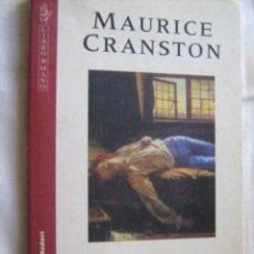 Libros de segunda mano: EL ROMANTICISMO. CRANSTON, MAURICE. 1997. Lote 29038947