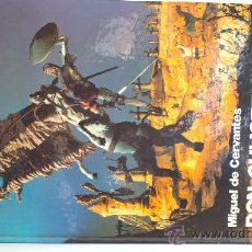 Libros de segunda mano: DON QUIJOTE(CON ILUSTRACIONES DE G,DORE)SEIX BARRAL.EDICION ESPECIAL PARA LA C DE AHORROS,P DE VALLA. Lote 29014428