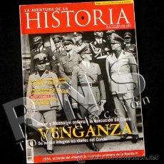 Libros de segunda mano: REVISTA AVENTURA DE LA HISTORIA 65 HITLER NAZIS MUSSOLINI II GUERRA MUNDIAL - NAVAS TOLOSA -NO LIBRO. Lote 29060851