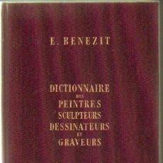Libros de segunda mano: DICTIONNAIRE DES PEINTRES, SCULPTEURS, DESSINATEURS ET GRAVEURS (8 TOMOS) (A-ART-891). Lote 29077577