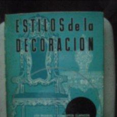 Libros de segunda mano: ESTILOS DE LA DECORACION DE BRIAN SEPTIMA EDICIÓN . Lote 29164994