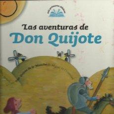 Libros de segunda mano: LAS AVENTURAS DE DON QUIJOTE . Lote 29204039