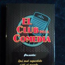 Libros de segunda mano: EL CLUB DE LA COMEDIA. ED. AGUILAR. EVA HACHE, PIÑUELA,SANTIAGO SEGURA, ED. AGUILAR. 2011 220 PAG. Lote 29286865