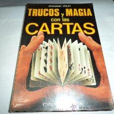 Libros de segunda mano: TRUCOS Y MAGIA CON LAS CARTAS. Lote 29349705