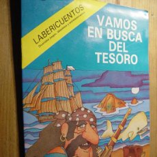 Libros de segunda mano: VAMOS EN BUSCA DEL TESORO. LABERICUENTOS Nº 1. JUAN JOSE CID MARTINEZ. SUSAETA EDICIONES 1980. *. Lote 29399573