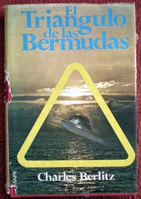 EL TRIÁNGULO DE LAS BERMUDAS;CHARLES BERLITZ;POMAIRE 1ª EDICIÓN 1975 (Libros de Segunda Mano - Parapsicología y Esoterismo - Otros)