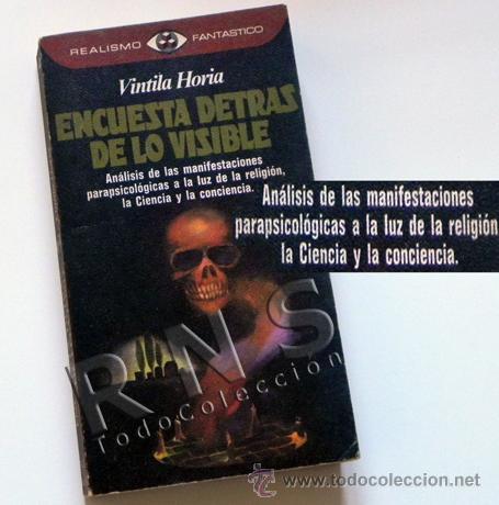 ENCUESTA DETRÁS DE LO VISIBLE - LIBRO ESOTERISMO PARAPSICOLOGÍA MISTERIO BÉLMEZ PSICOFONÍAS ETC (Libros de Segunda Mano - Parapsicología y Esoterismo - Otros)