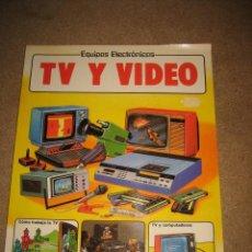 Libros de segunda mano: TV Y VIDEO EDICIONES PLESA 1983. Lote 29465185