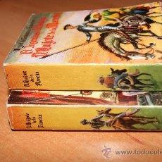 Libros de segunda mano: ENCICLOPEDIA PULGA /EL INGENIOSO HIDALGO DON QUIJOTE DE LA MANCHA /2 TOMOS . Lote 29476436