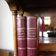 Libros de segunda mano: DICCIONARI DE LA LLENGUA CATALANA, 2 VOLUMS ANY 1864 - 1865. Lote 29505843