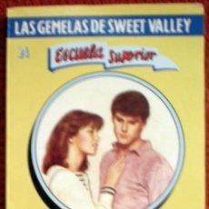 Livres d'occasion: LAS GEMELAS DE SWEET VALLEY-RECUERDOS INOLVIDABLES-Nº24;FRANCINE PASCAL;MOLINO 1994. Lote 29552908