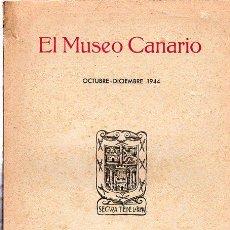 Libros de segunda mano: EL MUSEO CANARIO, OCTUBRE-DICIEMBRE 1944, AÑO V, LAS PALMAS DE GRAN CANARIA, NÚM 12. Lote 29597420