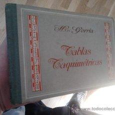 Libros de segunda mano: TABLAS TAQUIMÉTRICAS - GUSTAVO GILI . Lote 29611896