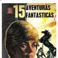 Libros de segunda mano: FHER - 15 AVENTURAS FANTASTICAS - 1977 - NUEVO DE KIOSKO -. Lote 29624342