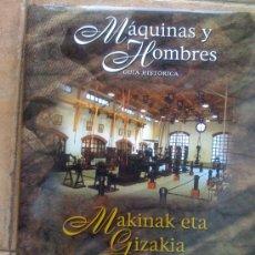 Libros de segunda mano: MAQUINAS Y HOMBRES GUIA HISTORICA PATXI ALDABALDETRECU FUNDACIÓN MUSEO DE MÁQUINA HERRAMIENTA. Lote 29657005