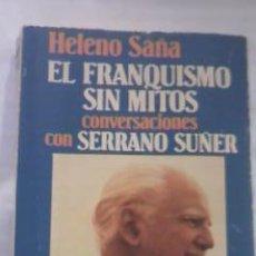 Libros de segunda mano: HELENO SAÑA EL FRANQUISMO SIN MITOS GRIJALBO PROLOGO DE HUGH THOMAS 1982. Lote 29671205
