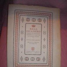 Libros de segunda mano: REAL PICADERO·LAMINAS DE EQUITACION GRABADAS EN EL SIGLO XVIII - LUJOSA EDICION NUMERADA.. Lote 29686450