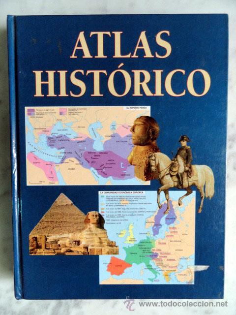 ATLAS HISTÓRICO - ENCICLOPEDIA TEMÁTICA ILUSTRADA, VARIOS AUTORES. 1999 (Libros de Segunda Mano - Historia - Otros)