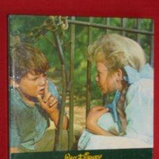 Libros de segunda mano: EL SECRETO DE POLLYANA,WALT DISNEY,EDIC.GAISA 1972,ILUSTRADO,60 PAG ,28X23´5, . Lote 29739425