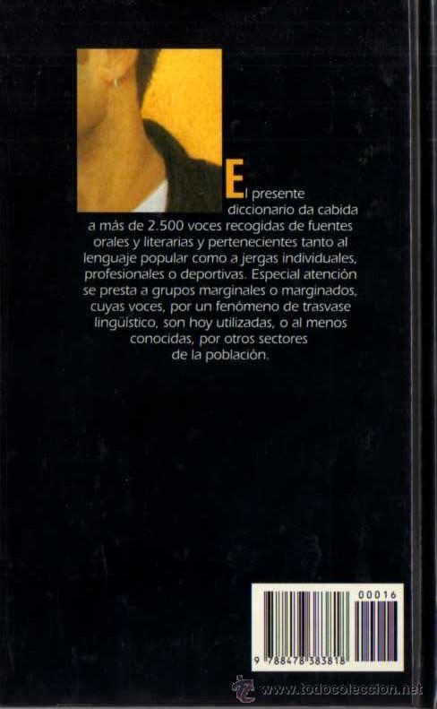 Libros de segunda mano: VÍCTOR LEÓN - DICCIONARIO DE ARGOT ESPAÑOL - BIB. TEM. ALIANZA Nº 16 - DEL PRADO - 1994 - Foto 2 - 29792975