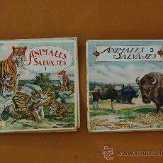 Libros de segunda mano: PAREJA DE LIBROS ALBUMES DE ANIMALES ED. RAMON SOPERA. NUMEROS 1 Y 3.. Lote 29902542