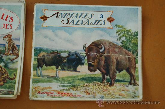 Libros de segunda mano: Pareja de libros albumes de animales ed. Ramon Sopera. Numeros 1 y 3. - Foto 2 - 29902542