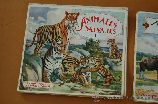 Libros de segunda mano: Pareja de libros albumes de animales ed. Ramon Sopera. Numeros 1 y 3. - Foto 3 - 29902542