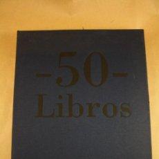 Libros de segunda mano: LIBRO DEL 50 ANIVERSARIO ED. PLANETA: 50 LIBROS - 50 AÑOS, EDICIÓN LUJO. Lote 29911400