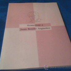 Libros de segunda mano: HOMENAJE A JUAN BENITO ARGUELLES. OVIEDO 1994. VARIOS AUTORES.. Lote 29991940