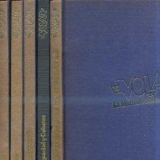 Libros de segunda mano: VOLAR - EL MUNDO DE LA AVIACIÓN (EGC, 1982) CINCO TOMOS. Lote 37088833