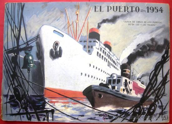El puerto en 1954 junta de obras puerto de comprar en todocoleccion 30026171 - Tablet segunda mano las palmas ...