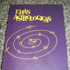 Libros de segunda mano: ERAS ASTROLOGICAS, POR NORMA PALMA DE SINDONA - DISTAL - ARGENTINA - 1988. Lote 30045937