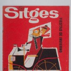 Libros de segunda mano: CATALOGO - PROGRAMA OFICIAL, II RALLYE DE COCHES DE EPOCA BARCELONA - SITGES, AÑO 1960. Lote 30068884