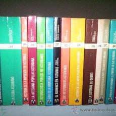 Libros de segunda mano: COLECCION POPULAR ASTURIANA ( 59 LIBROS ) / VER FOTOGRAFIAS. Lote 54660661