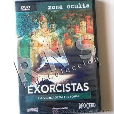 Libros de segunda mano: EXORCISTAS LA VERDADERA HISTORIA DVD PR. DOCUMENTAL EXORCISMO MISTERIO ESOTERISMO RELIGIÓN -NO LIBRO. Lote 30105954