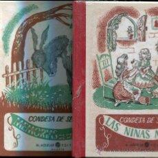 Libros de segunda mano - lote-Las niñas modelo--memorias de un burro condesa de segur - 30150744