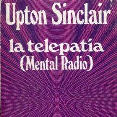 Libros de segunda mano: LA TELEPATIA (MENTAL RADIO ). Lote 78802349