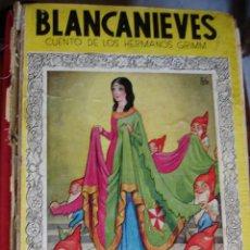 Libros de segunda mano - BLANCANIEVES.ED MOLINO.1938.47 PG.MUY DETERIORADO - 30204019