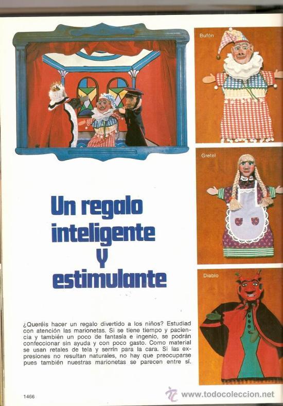 Libros de segunda mano: Gran Enciclopedia Punto Costura: ganchillo, bordado y trabajos manuales. V 4 - Foto 4 - 30215383