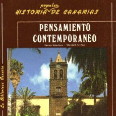 Libros de segunda mano: HISTORIA POPULAR DE CANARIAS - PENSAMIENTO CONTEMPORÁNEO (CENTRO DE LA CULTURA POPULAR CANARIA). Lote 30219881