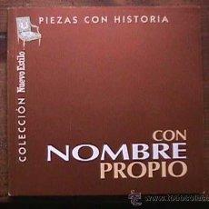 Libros de segunda mano: PIEZAS CON HISTORIA, CON NOMBRE PROPIO, NUEVO ESTILO, 1998. Lote 30228709