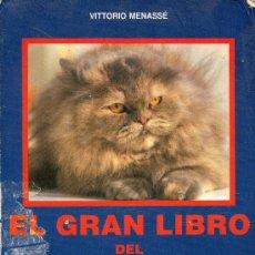Libros de segunda mano: EL GRAN LIBRO DEL GATO. Lote 30239296