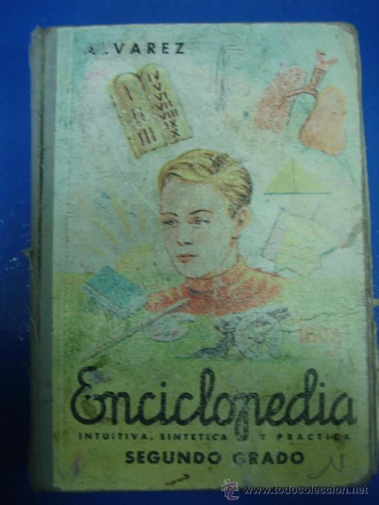 ENCICLOPEDIA ALVAREZ 2º GRADO 1965 (Libros de Segunda Mano - Literatura Infantil y Juvenil - Otros)