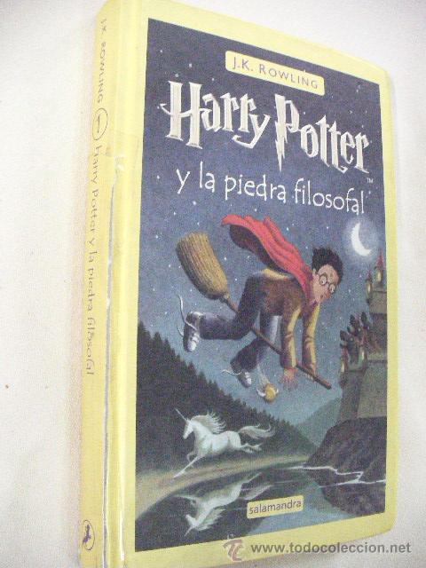 HARRY POTTER Y LA PIEDRA FILOSOFAL DE J.K.ROWLING (Libros de Segunda Mano - Literatura Infantil y Juvenil - Otros)