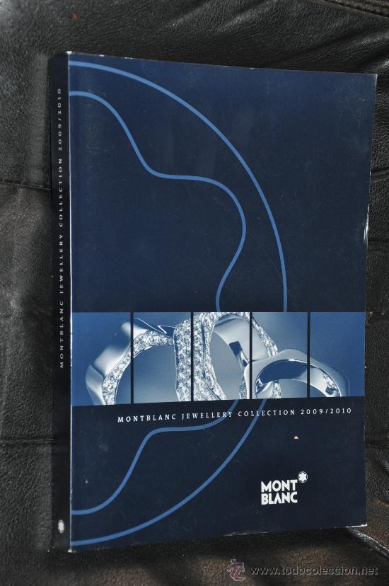 CATALOGO DE MONTBLANC JOYAS 2009/10 (Libros de Segunda Mano (posteriores a 1936) - Literatura - Otros)