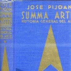 Libros de segunda mano: SUMMA ARTIS V : JOSE PIJOÁN - ARTE ROMANO HASTA LA MUERTE DE DOCLECIANO (1965) . Lote 30553330