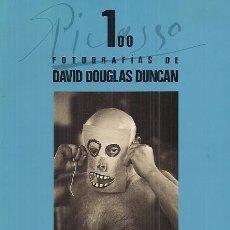Libros de segunda mano: LA MAGIA DE PICASSO. 100 FOTOGRAFÍAS / DAVID DOUGLAS DUNCAN . TEXTO MARIO MUCHNICK. Lote 30593722