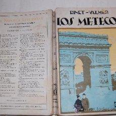 Libros de segunda mano: LOS METECOS. (NOVELA DE COSTUMBRES PARISIENSES.) BINET-VALMER PX25003. Lote 30603837