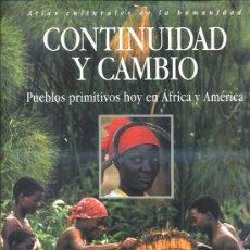 Libros de segunda mano: PUEBLOS PRIMITIVOS HOY EN ÁFRICA Y AMÉRICA (1995) ATLAS CULTURALES DE LA HUMANIDAD. Lote 30604415